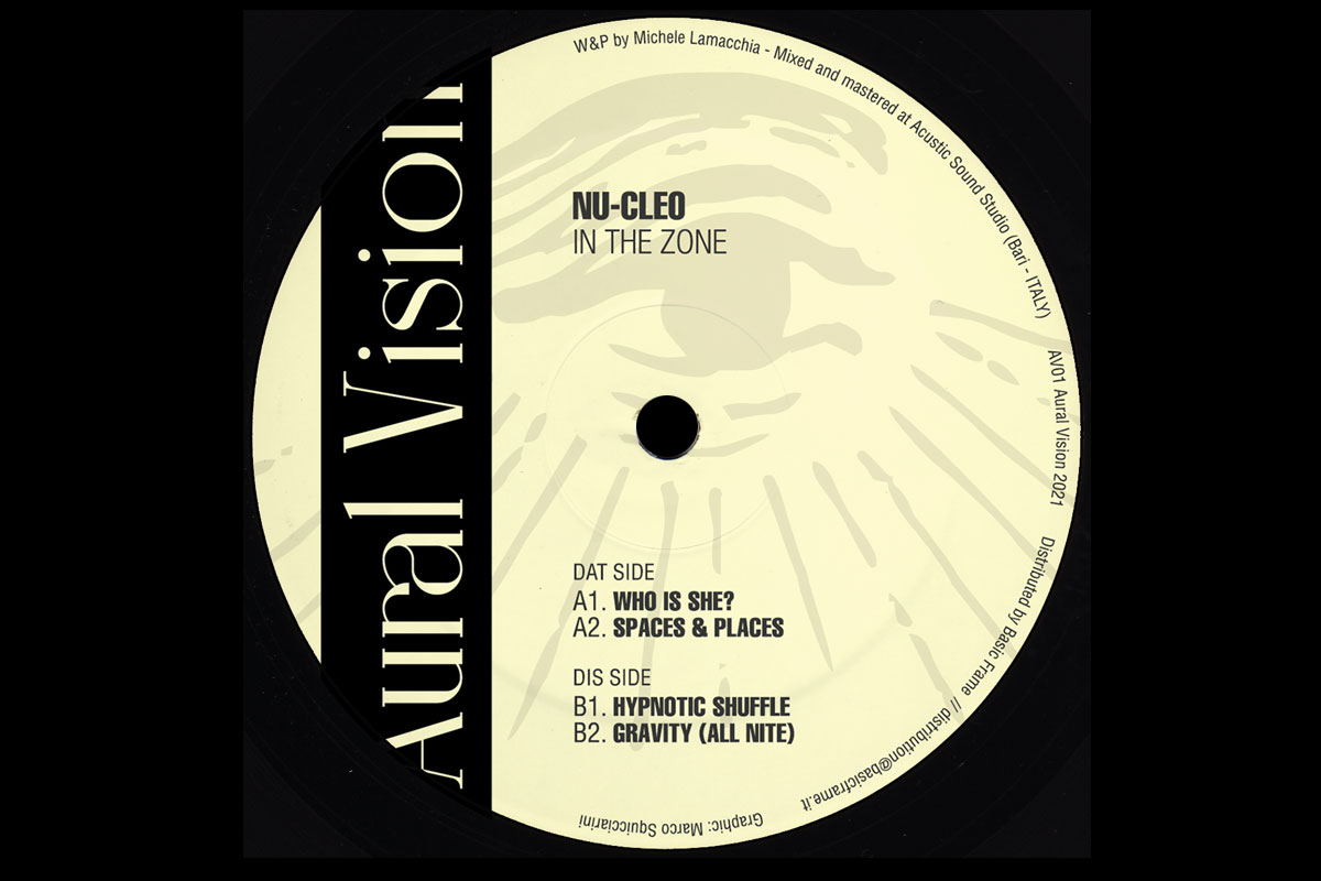 """Nu-Cleo launches Aural Vision imprint with """"In The Zone"""""""