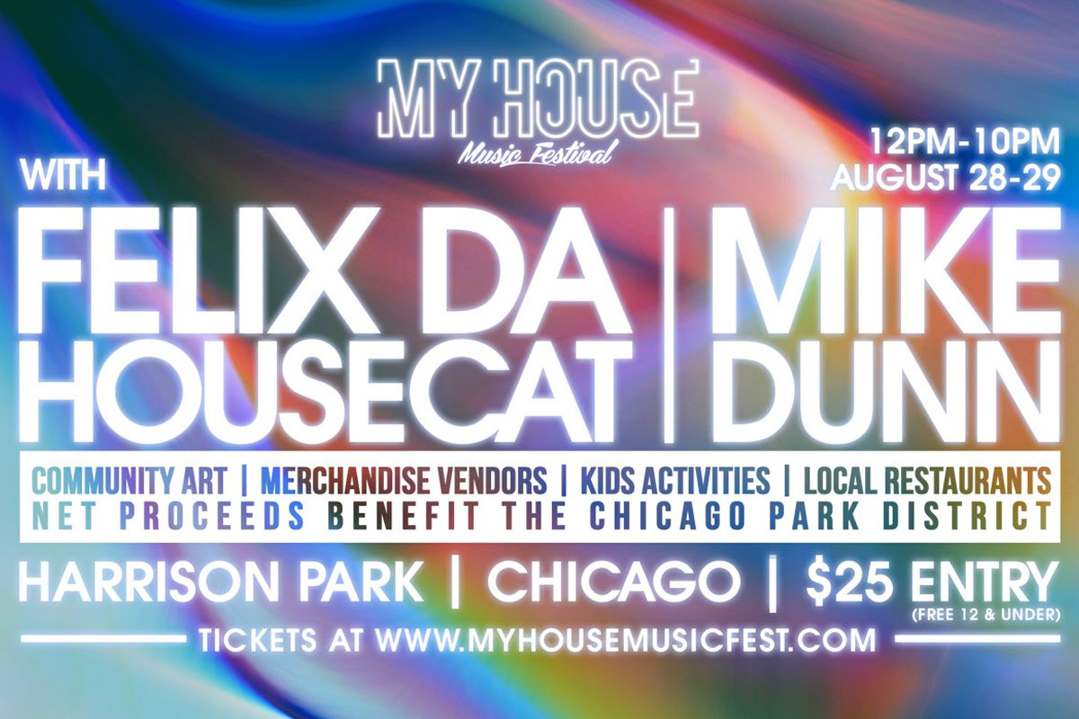 My House Music Festival is a non-stop Chicago house music celebration