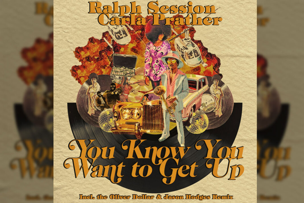 Ralph Session Carla Prather You Know You Want To Get Up album art