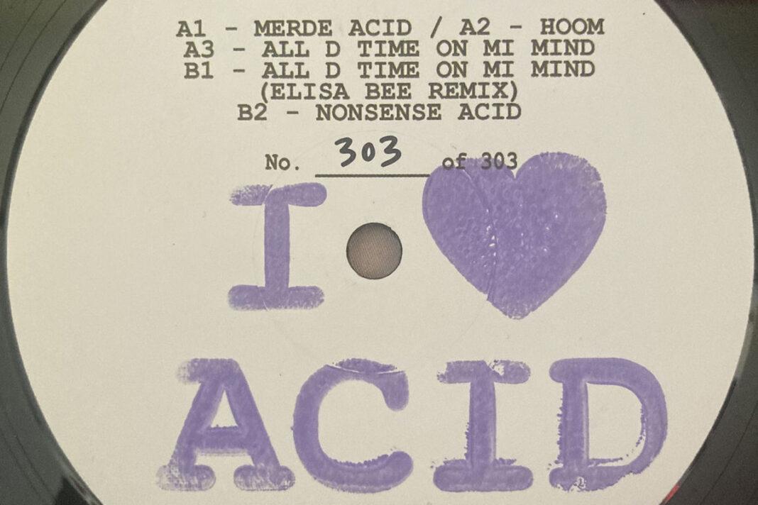WTCHCRFT I Love Acid album art