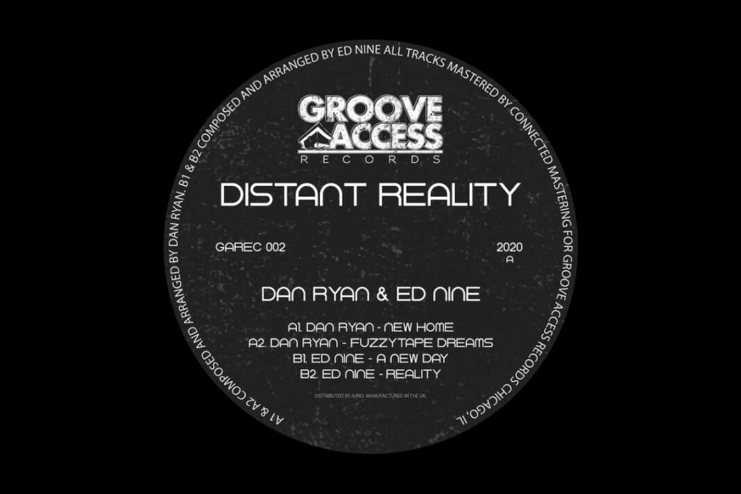 Ed Nine Dan Ryan Distant Reality EP album art
