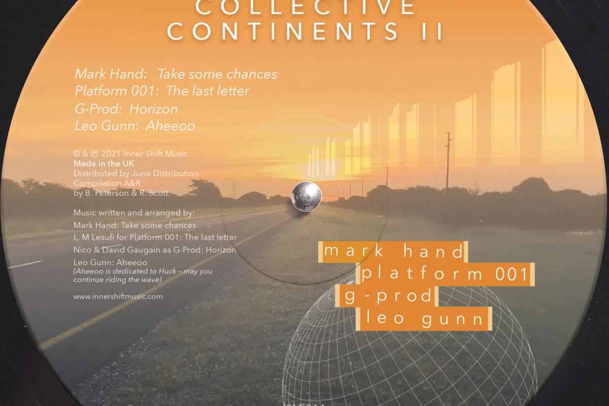 V/A Inner Shift Collective Continents Vol II album art