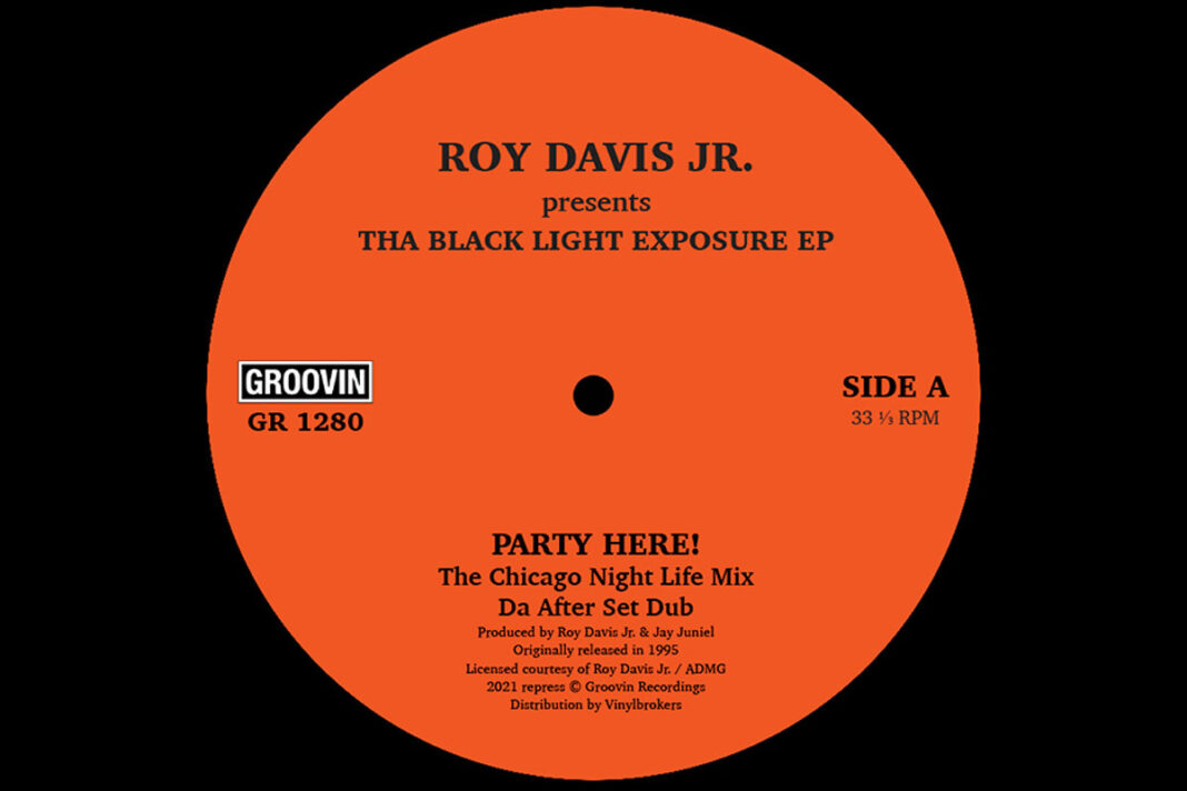 Roy Davis Jr Blacklight Exposure album art
